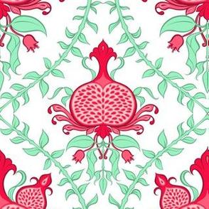 Pomegranate Damask 1