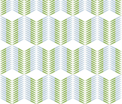 Fern Geo  fabric by kee_design_studio on Spoonflower - custom fabric
