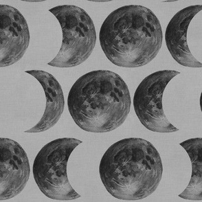Moon Phases (Grey)