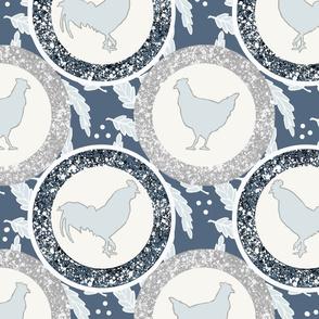 Modern Farmhouse Rooster & Hen