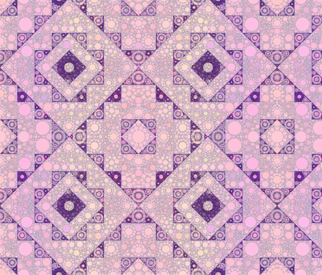 kilim -pink-bubbles fabric by elramsay on Spoonflower - custom fabric