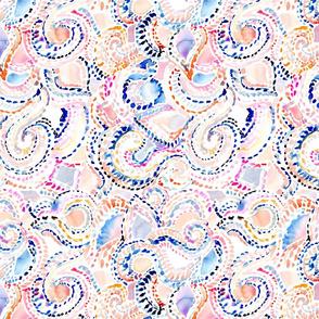 Watercolor Geometric Dash