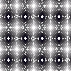 Olive Green Gradient Geometric