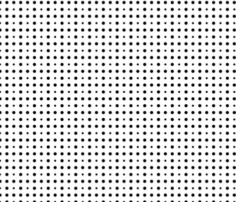 B&W Dots 2 fabric by debraclutterdesigns on Spoonflower - custom fabric