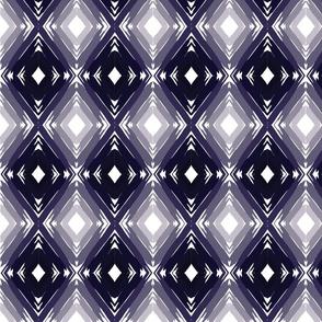 Dark Blue Gradient Geometric