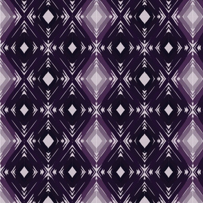 Dark Purple Gradient Geometric