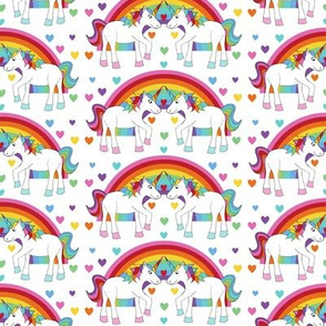 Unicorns in love
