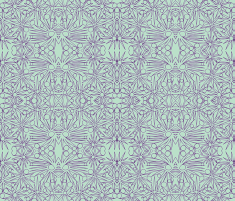thistles lll fabric by unclemamma on Spoonflower - custom fabric