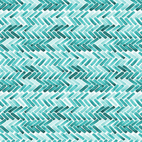 Mint herringbone 90
