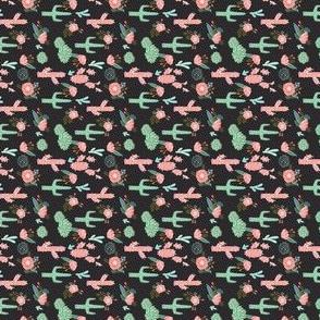 cactus flowers cute girls cacti pink mint cactus and flowers cactus flowers - tiny
