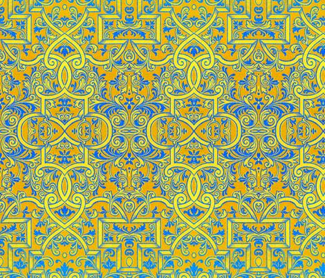16eme siecle 35 fabric by hypersphere on Spoonflower - custom fabric
