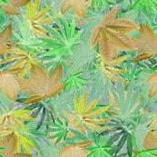 Green Cannabis Camo