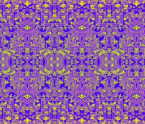 16eme siecle 36 fabric by hypersphere on Spoonflower - custom fabric