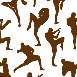Brown Muay Thai // Large