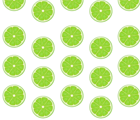 limey fabric by marysurfshawaii on Spoonflower - custom fabric