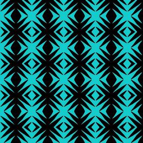 Ziwa Ziwa 2a in Turquoise & Black