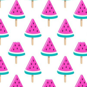 watermelon popsicles - bold