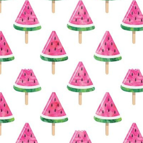 watermelon popsicles - pink
