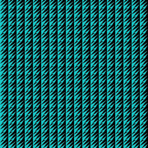 Ziwa Ziwa 4a in Turquoise & Black