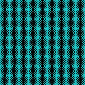 Ziwa Ziwa 26 in Turquoise & Black