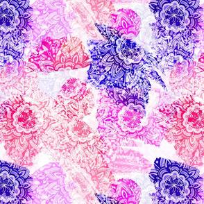Bohemian Lace (Purple and Pink)