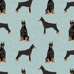 doberman pinscher pet quilt  b dog breed nursery collection coordinate