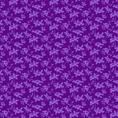 LCS-Purple flower print