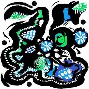 Caribbean Nights Turquoise