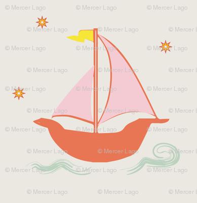 girls sailing feminine sailboat small