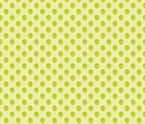 avocado dots4 small fabric by b0rwear on Spoonflower - custom fabric