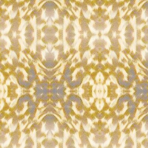 Mosaic - gold and gray