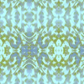 Mosaic - blue and green