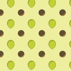 avocado dots6 large