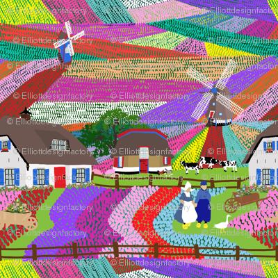 Dutch Tulip Farm