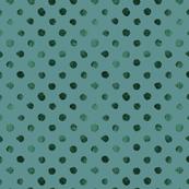 Swiss Dot Teal Evergreen
