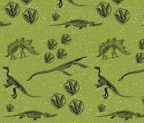 DinoHunt fabric by la_panim on Spoonflower - custom fabric