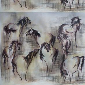 Faded Horses