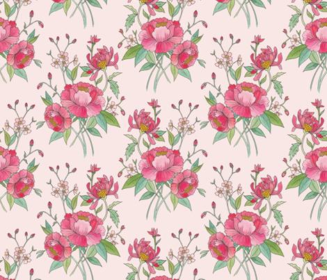 Gloriana fabric by raymondwarenyc on Spoonflower - custom fabric