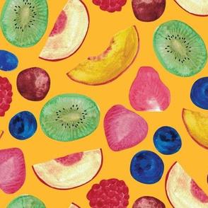 Summer Fruit Salad {Gold}