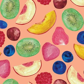 Summer Fruit Salad {Peach}