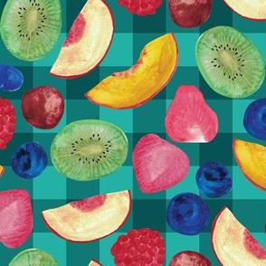 Summer Fruit Salad {Teal Picnic}