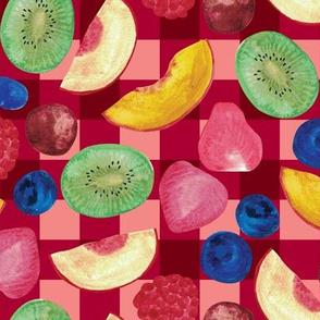 Summer Fruit Salad {Red Picnic}