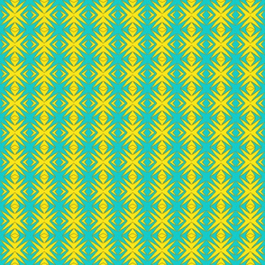 Ziwa Ziwa 4 in Turquoise & Yellow
