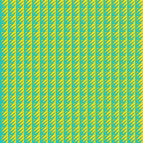 Ziwa Ziwa 5 in Turquoise & Yellow