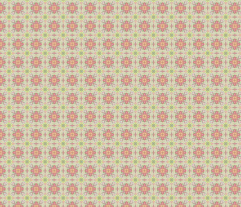 spring in garden fabric by irka on Spoonflower - custom fabric
