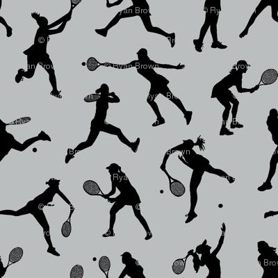 Women's Tennis - Light Grey // Large
