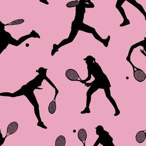 Women's Tennis - Light Pink // Large