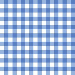 Gingham Picnic Check {Blue}
