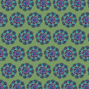 Azita flower mandala