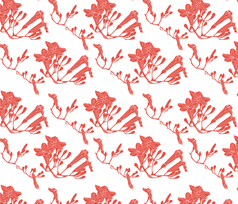 RedonWhite fabric by uniqueheartboutique on Spoonflower - custom fabric